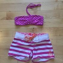 Girls Billabong Board Short With Gap Bikini Top Photo
