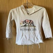 Girls Billabong California Love Hoodie Sweatshirt Size Xs Photo