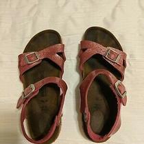 Girls Birkenstock Sandals Size 34 or Size 3 Photo