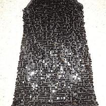 Girls Black Sequin Sparkly Party Dress in Size 12 by Blush Photo
