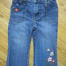 Girls Blue Jeans Pants Bottoms Denim Levi Strauss Levi's Stretch Size 18 Months Photo
