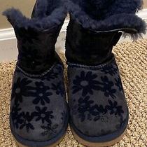 Girls Blue Ugg Boots Size 11 Photo