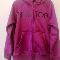 Girls Burton Hoodie Fully Zipped Jacket Xs (7-8) Photo