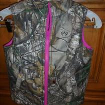 Girls Carthartt Realtree Camo/hot Pink Vest Size Xs/6 New No Tags Low Shipng Photo