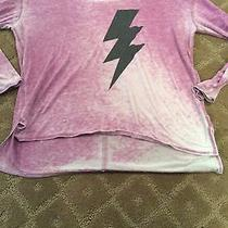 Girls Chaser Long Sleeve T Shirt With Lighting Bolt Size 14 Photo