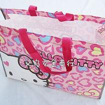 Girls Child Lady Hello Kitty Travel Beach Waterproof Swim Carry Tote Lunch Bag Photo