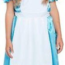 Girls Classic Alice in Wonderland Fantasy Book Day Fancy Dress Costume Outfit Photo