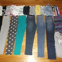 Girls Clothes Size 10 Tops Winter Spring Jeans Leggings Lot Gap Old Navy Justice Photo