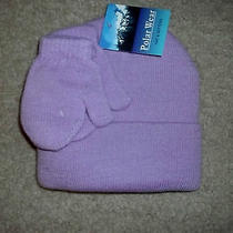 Girls  Cold Weather  Gloves & Hat Set    by Polar Wear  One Size Fits Most   Photo