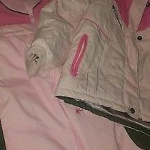 Girls Columbia Pink Snow Suit  Size 3  Photo