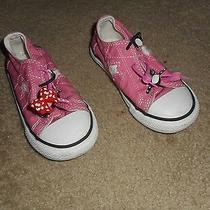 Girls Converse One Star Pink/white Athletic Shoes Size 9 2 Photo
