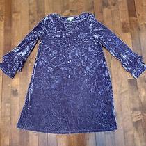 Girls Design History Velvet Dress L 12 Purple Photo