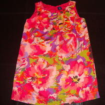 Girls Gap Floral Print Dress Size S 6-7 Photo