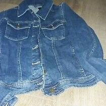 Girls Gap Jean Jacket Size 16 Photo