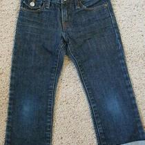 Girls Gap Kids Denim Jean Capri Pants Size 7 Slim Photo