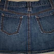 Girls Gap Kids Size 10 Skirt Denim Jean Cute Trendy Photo