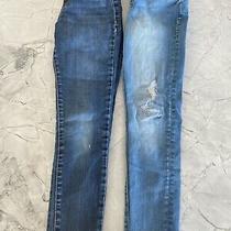 Girls Gap Legging Jeans Lot Size 8 Photo