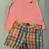 Girls Gap Shorts and Tank Sz 8/10 Photo
