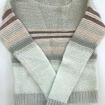 Girls Gap Sweater Sz L ( 10 ) Striped Shirt Large Top Photo