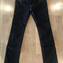 Girls Guess Jeans Sarah Low Rise Skinny Sz 8 Dark Wash Adjustable Waste  Photo