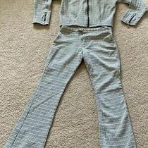 Girls Guess Pant Suit Black Jacket Pants Set Lot Zipper Photo
