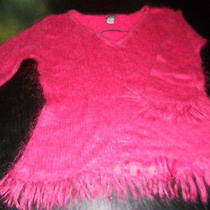 Girls Guess Sweater Mohair  Size Med  Childrens  Photo