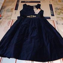 Girls Gymboree Holiday Shine Velvet Christmas Dress Size 6 Nwt Photo