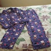 Girls Hello Kitty 2 Piece Pajamas Set Size 7/8 Photo