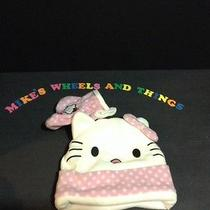 Girls Hello Kitty Fleece Hat Mittens Set Toddler 10 Months-3yrs Approx. New Photo