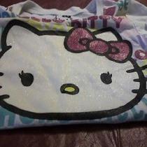 Girls Hello Kitty Glitter Shirt (6-6x) Photo