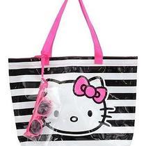 Girls' Hello Kitty Swim Tote Bag With Sunglasses Photo