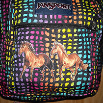 Girls Horse Backpackjansportbig Studentlarge Bpcomputer Space Tooschool Photo