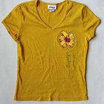 Girls Hurley T Shirt Top Size Medium M  Photo