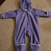 Girls Infants Columbia Snowsuit Purple Photo
