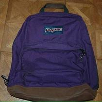 Girls Jansport Purple Backpack Photo