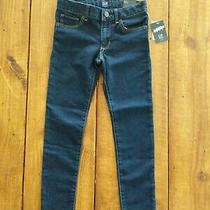 Girls Jeans Size 7 Regular/super Skinny by Gap Denim New Photo