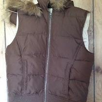 Girls Juniors Size Small Aeropostale Brown Vest Photo