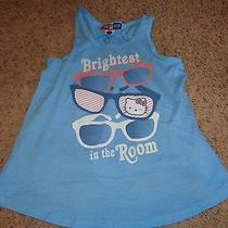 Girls Junk Food Loves Gap Hello Kitty Sanrio Shirt Tank Size 8 Brightest in Room Photo