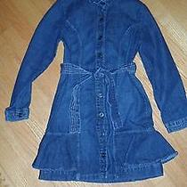 Girls Kc Parker Jean Dress Nice Sz 12 Photo