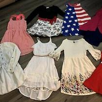 Girls Lot Dress Dresses Size 10-12 10/12 Medium 10 Old Navy Gap Kids Bonnie Jean Photo
