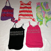 Girls Lot of 5 Size 5 Vintage Havana  Dori Creations & Other Tops -Preowned Photo