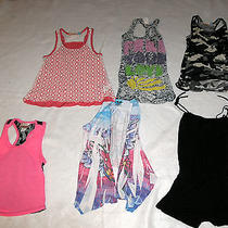 Girls Lot of 6 Tops Sizes S & 4 Vintage Havana Heartbreaker & Others -Preowned Photo