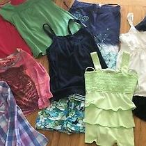Girls Lot Of18 Justice Gap Abercrombie Ralph Lauren Tops Shorts Skirts 14/16 Photo
