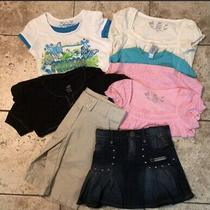 Girls Lot Size 4-5 & 6x Mixed Lot Tops Skirt and Shorts by Gap Arizona Cupid Cup Photo