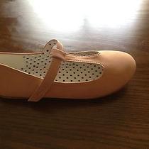 Girls Mary Jane Blush/ Pink Flats Size 2 Photo