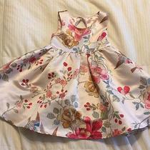Girls Monsoon Blush Pink Print Easter Dress Size 3 Yrs Gorgeous Dress Euc Photo