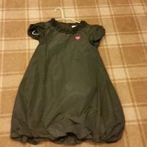 Girls Moschino Black Taffeta Dress Size 12 Photo
