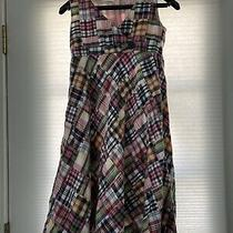 Girls Nautical Madras Dress From Gap Size Xxl 14-16 Excellent Condition Photo