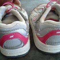 Girls New Balance Tennis Shoes Size 8 Photo