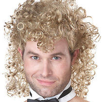 Girls Night Out Blonde Funny Stripper Workout Halloween Fashion Wigs Photo